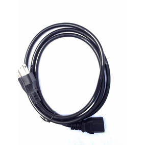 Cable De Corriente Cpu Monitor Tv 1.5mts Gio