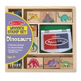 Dinosaur Stamp Set-sellos Dinosaurios