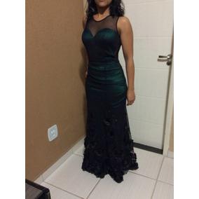 Vestido De Festa Longo / Madrinha De Casamento/ Verde Musgo