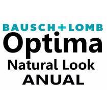 Pupilentes Optima Natural Look Bausch & Lomb ( Duran Un Año)