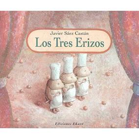 Libro Tres Erizos, Los - Nuevo