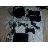 Playstation 2 Con Volante Inalanbrico Tonas
