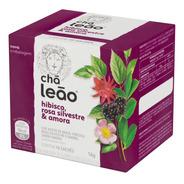 Chá Leão Hibisco, Rosa Silvestre E Amora 10 Sachês