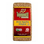 Arroz Agulha Integral Orgânico Topanotti 1kg