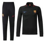 Buzo Deportivo Nike Barcelona Fc Negro Full 2018 A Pedido