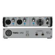 Interface Two 192 Rad Usb 2x2 Mic Linha Phantom Power + Nf