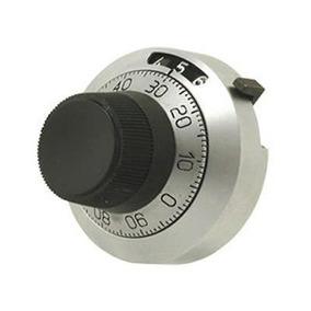 Perilla Dial Cuentavueltas 46mm Potenciómetros De Precisión