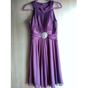 Vestido Corto Jessica Howard Color Morado