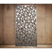 Paneles Decorativos/biombos/divisor De Ambientes/ Madera Mdf
