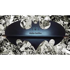 Prateleira Nicho Batman 80 Cm - Mdf 12 Mm - Frete Grátis!