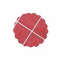 Fundo De Forminha Para Docinhos Nº7 C/100 Vermelho