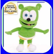 Ursinho Gummy Bear 34cm Musical Pronta Entrega