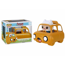 Jake Car With Finn - Hora Da Aventura - Pop! Funko