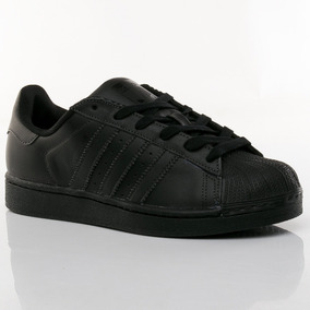 ádidas superstar negras