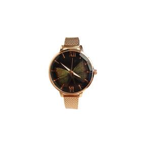 f9544f92037 Relogio Lince Borboleta Rose - Relógios De Pulso no Mercado Livre Brasil