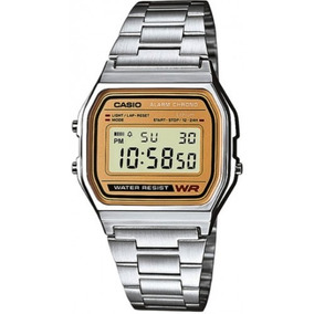 Casio Reloj Retro Unisex A158wea9 100%original Regalo Lentes