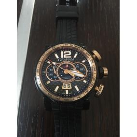 Reloj Graham Silverstone Gmt Limited Edition Oro Caja Papele