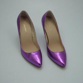 Zapatos Sexys De Mujer Color Morado