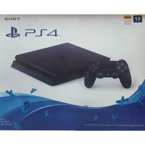 Ps4 Sony Slim 1 Tera Hdr Cuh2115b Nota Fiscal Pronta Entrega