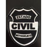 Parche Estado Civil Motociclista Biker