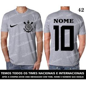 7402a8ee22 Camiseta Corinthians Egg - Camisetas e Blusas no Mercado Livre Brasil