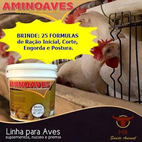 Aminoaves 5 Kg - Núcleo Para Ração + Brinde - Fab: Setemb/18