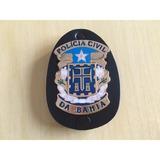 Distintivo Polícia Civil Bahia- Frete Gratis