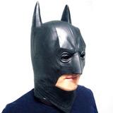 Mascara Borracha Batman Dark Knight Latex Heroi Cosplay