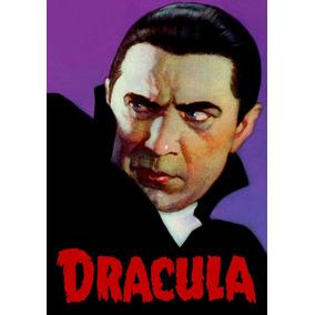 Poster Cartaz Desenho Classico Retro Dracula Bela Lugosi A3