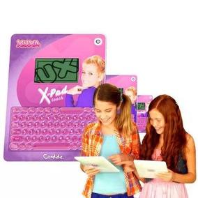 Tablet Infantil Xuxa Candide 80 Atividades Bilingue