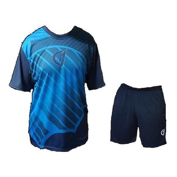 Conjunto Remera Short Dry Fit Tenis Paddle Class One Deportivo
