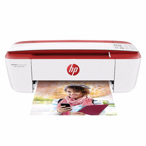 Impresora Hp 3785 Multifuncion Advantage Wifi Compacta Rojo