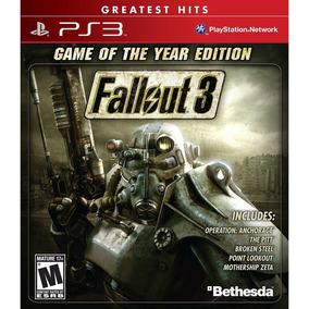 Fallout 3 Game Of The Year Ps3 Mídia Física Lacrado