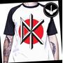 Camiseta Raglan Ou Baby Look Dead Kennedys Hard Core Punk