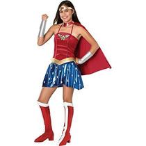 Disfraz Traje De Mujer De Maravilla - Adolescente