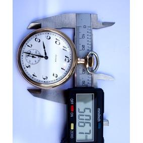 Relógio Elgin De Bolso Tam. 16s Ano 1920 Com 50mmø