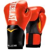 Guantes Boxeo Everlast New Pro Style Elite 16oz - Rojo