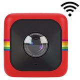 Cámara Deportiva Polaroid Cube Plus Roja Wifi Envio 2