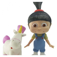 Boneco Agnes E Fluffy Minions
