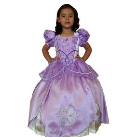 Vestido Sofia De Frozen Para Niña