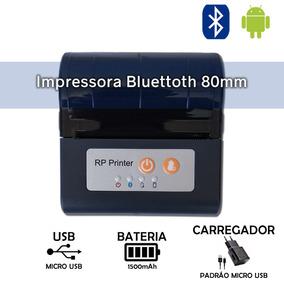 Mini Impressora Portátil 80mm Bluetooth Concorrênte Datecs