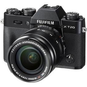 Câmera Compacta Fujifilm Xt20 Com Lente 18-55mm Ultra Hd 4k