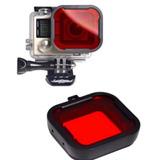 Filtro Rojo Compatible Go Pro Envio Gratis !
