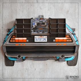 Repisa Delorean Volver Al Futuro Hot Wheels De Colección