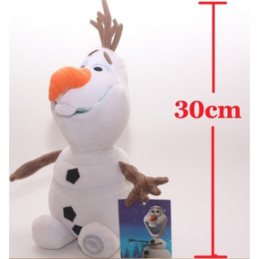 Boneco Olaf 30 Cm Frozen Pelúcia Pronta Entrega