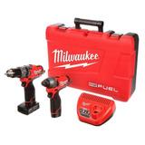 Kit Combinado De 2 Herramientas M12 Fuel Milwaukee