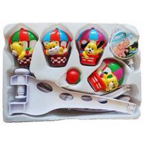 Móbile Giratório Musical Berço Brinquedo Enfeite Balão Funny