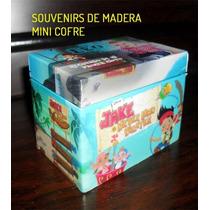 Jake El Pirata Souvenirs Cofre De Madera Personalizado