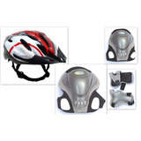 Kit Proteccion Adulto Rodilleras Coderas Muñequeras + Casco