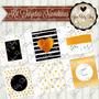 Kit Imprimible Tarjetas Navidad Editables Png Tags Glitter